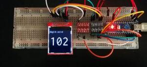 Arduino driving TFT display